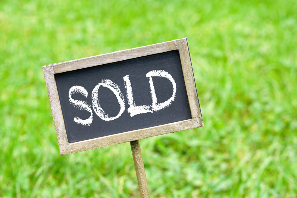 Comparing to recently sold property