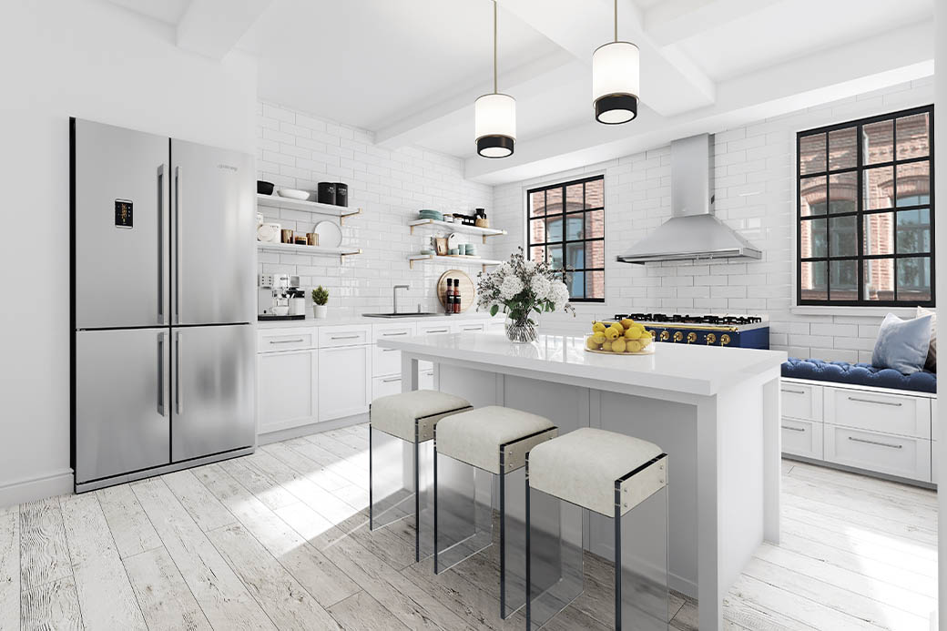 Virtual Staging Kitchen