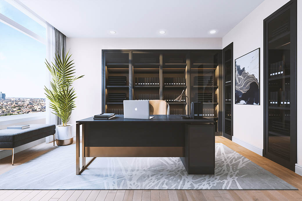 office virtual staging